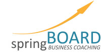 spring board business coaching logo